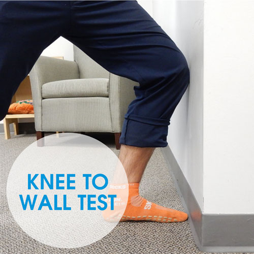 ankle-dorsiflexion-in-knee-to-wall-test
