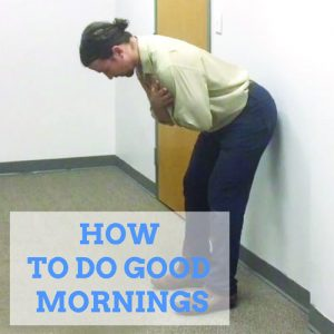 exercises-for-lower-back-good-morning