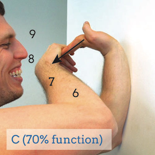 C-grade-wrist-extension-test