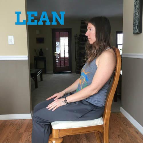 Lean-sitting-correctly