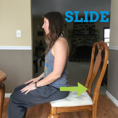 Slide-sitting-correctly