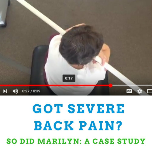 Case Study: 20 Years of Severe Back Pain and a Prayer