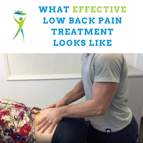 The Most Effective Lower Back Pain Treatment