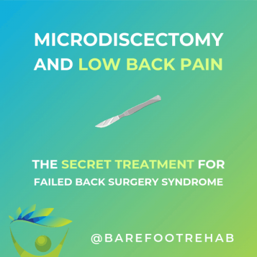 microdiscectomy-failed-back-surgery-syndrome